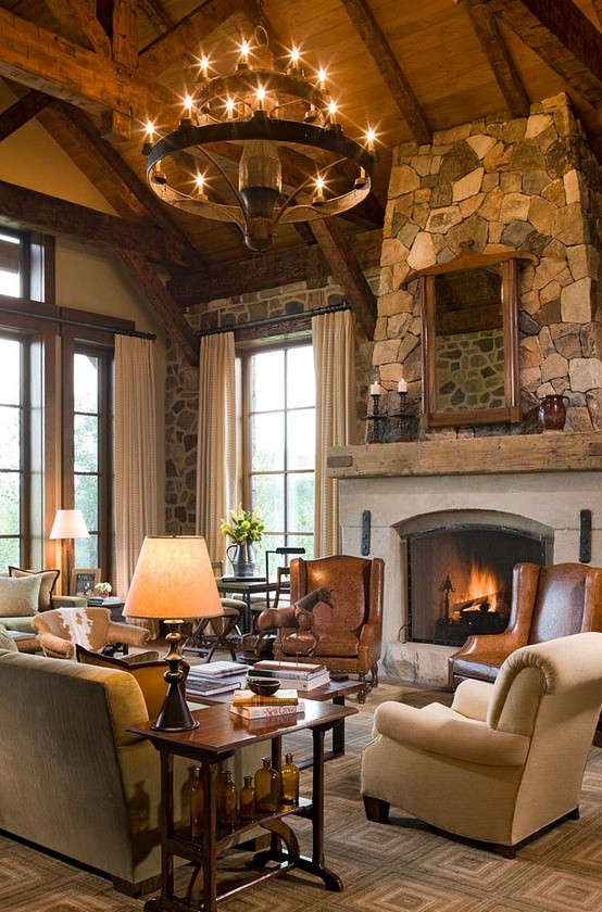 Best ideas about Rustic Living Room Ideas . Save or Pin 25 Rustic Living Room Design Ideas For Your Home Now.