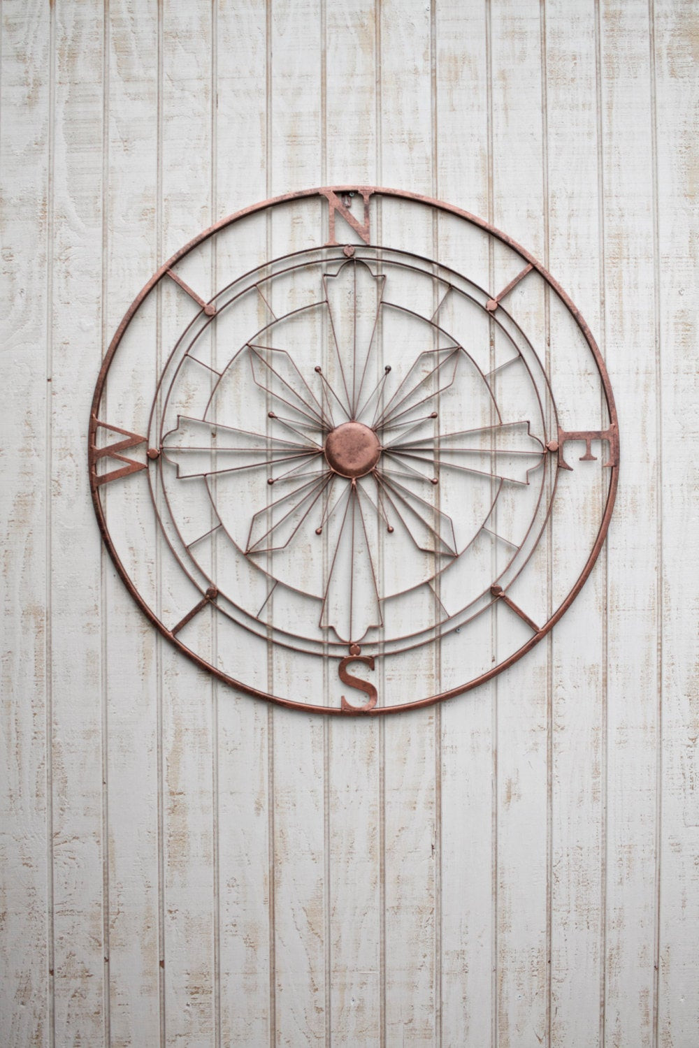 Best ideas about Rustic Metal Wall Art . Save or Pin Nautical pass Wall Art Rustic Wall Decor Metal Wall Art Now.
