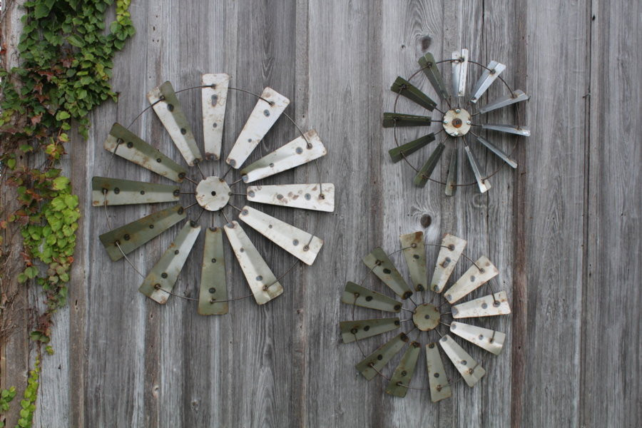 Best ideas about Rustic Metal Wall Art . Save or Pin Rustic Metal Farm Country Windmill Wall Art Barn Decor Now.