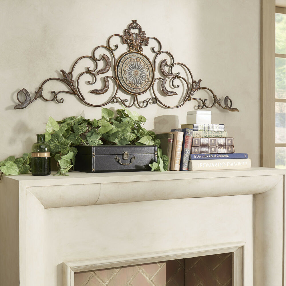 Best ideas about Rustic Metal Wall Art . Save or Pin Classic Tuscan Wrought Iron Metal Wall Decor Rustic Now.