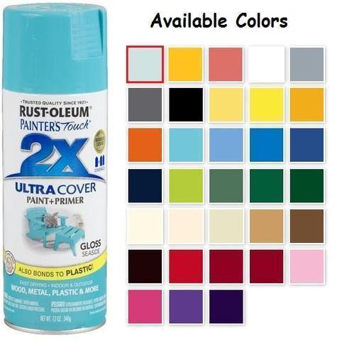 Best ideas about Rustoleum 2X Spray Paint Colors . Save or Pin Rust Oleum Gloss Spray Paint Colors Now.