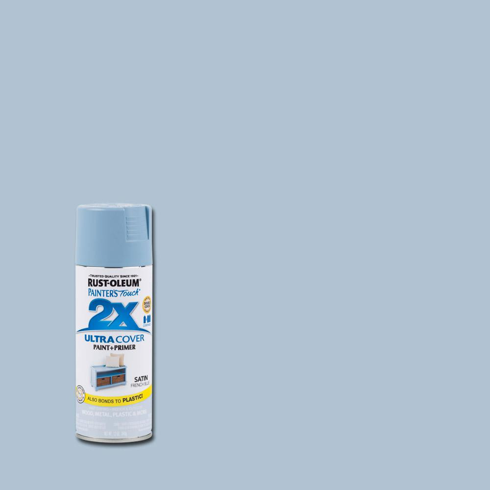 Best ideas about Rustoleum 2X Spray Paint Colors . Save or Pin Rust Oleum Painter s Touch 2X 12 oz Satin French Blue Now.