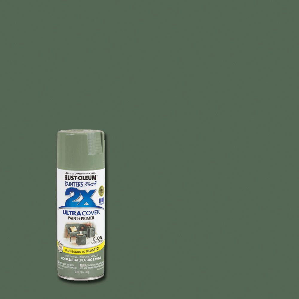 Best ideas about Rustoleum 2X Spray Paint Colors . Save or Pin Rust Oleum Painter s Touch 2X 12 oz Gloss Sage Green Now.