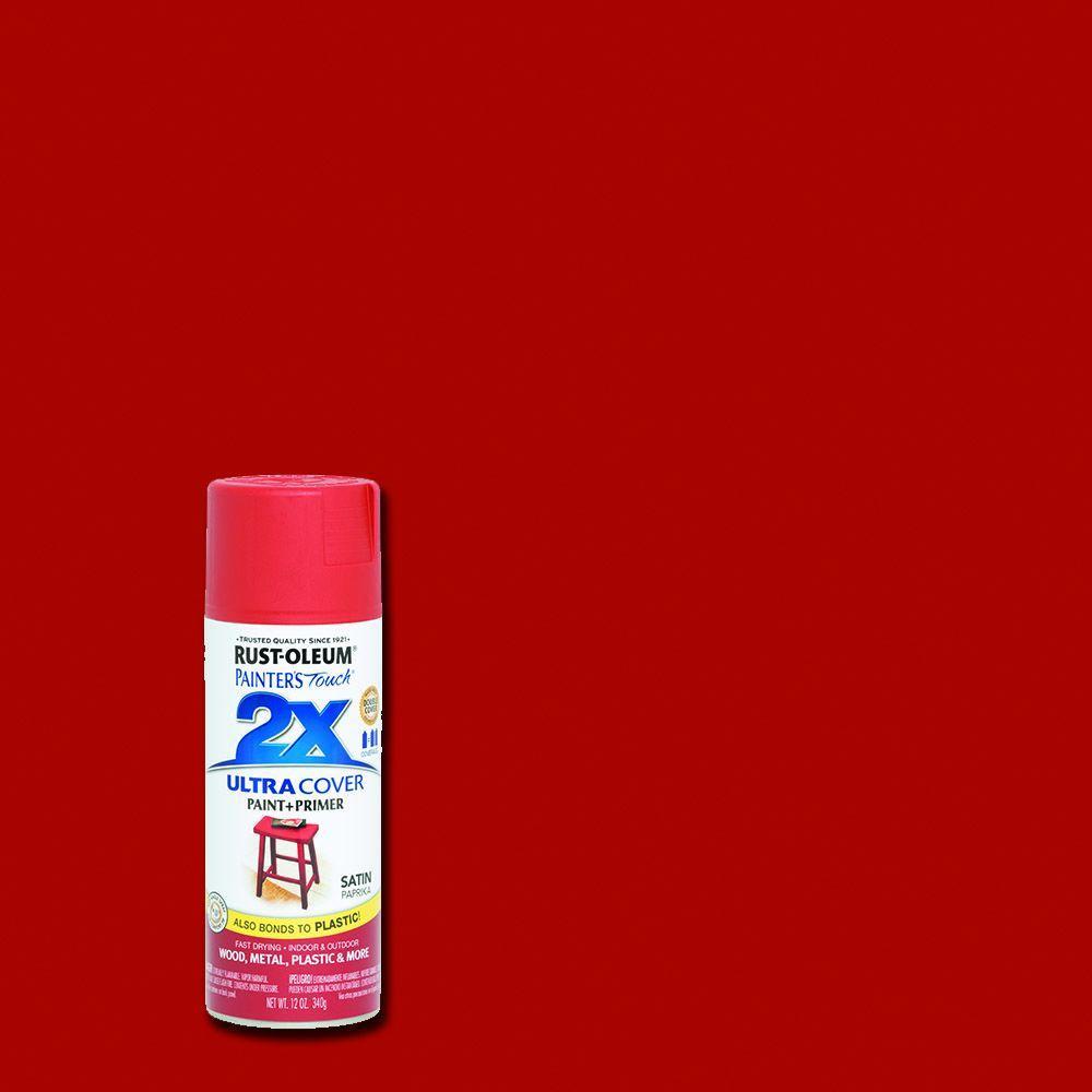 Best ideas about Rustoleum 2X Spray Paint Colors . Save or Pin Rust Oleum Painter s Touch 2X 12 oz Satin Paprika General Now.
