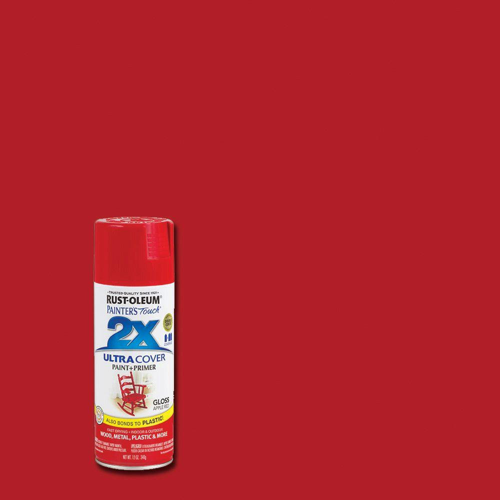 Best ideas about Rustoleum 2X Spray Paint Colors . Save or Pin Rust Oleum Painter s Touch 2X 12 oz Gloss Apple Red Now.