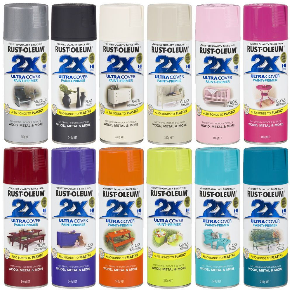 Best ideas about Rustoleum 2X Spray Paint Colors . Save or Pin Rust Oleum 2X Ultra Cover Spray Paint Primer Gloss Satin Now.