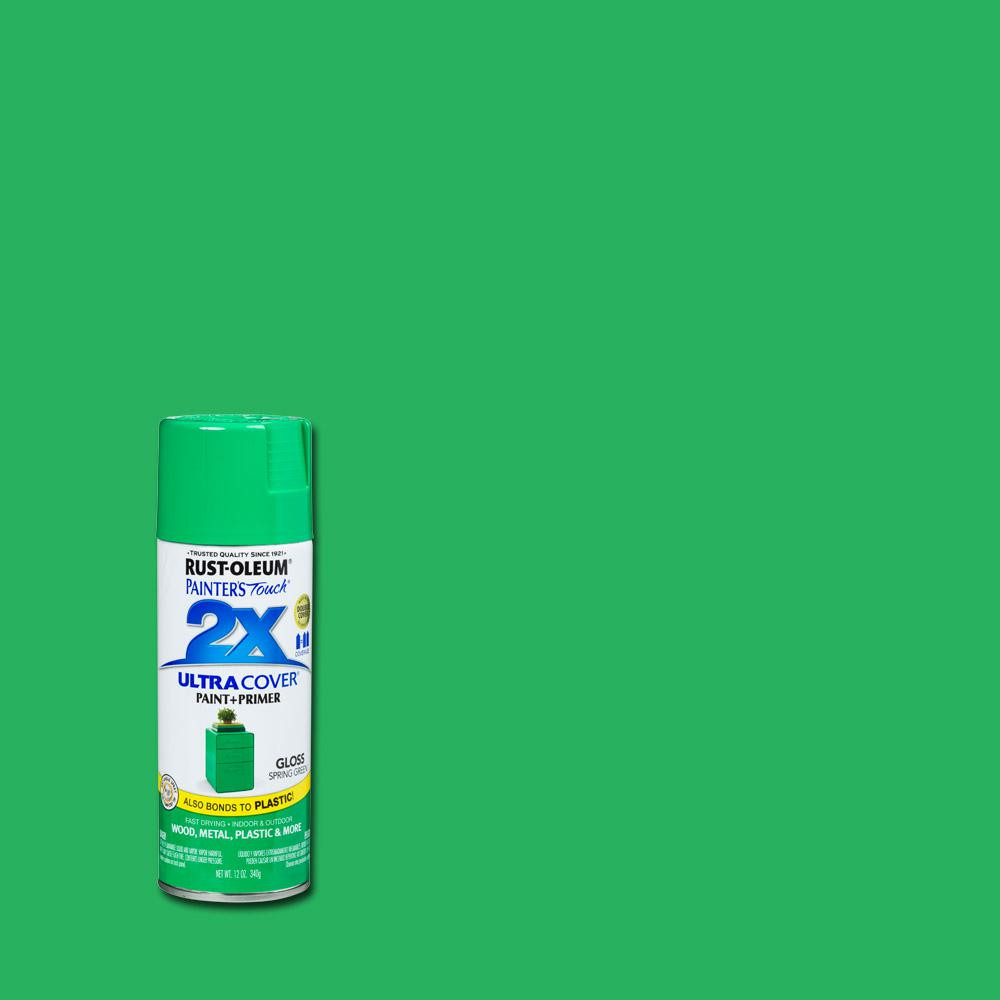 Best ideas about Rustoleum 2X Spray Paint Colors . Save or Pin Rust Oleum Painter s Touch 2X 12 oz Gloss Spring Green Now.
