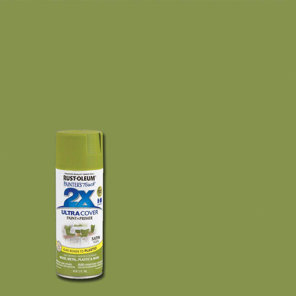 Best ideas about Rustoleum 2X Spray Paint Colors . Save or Pin Rust Oleum Painter s Touch 2X 12 oz Satin Eden General Now.