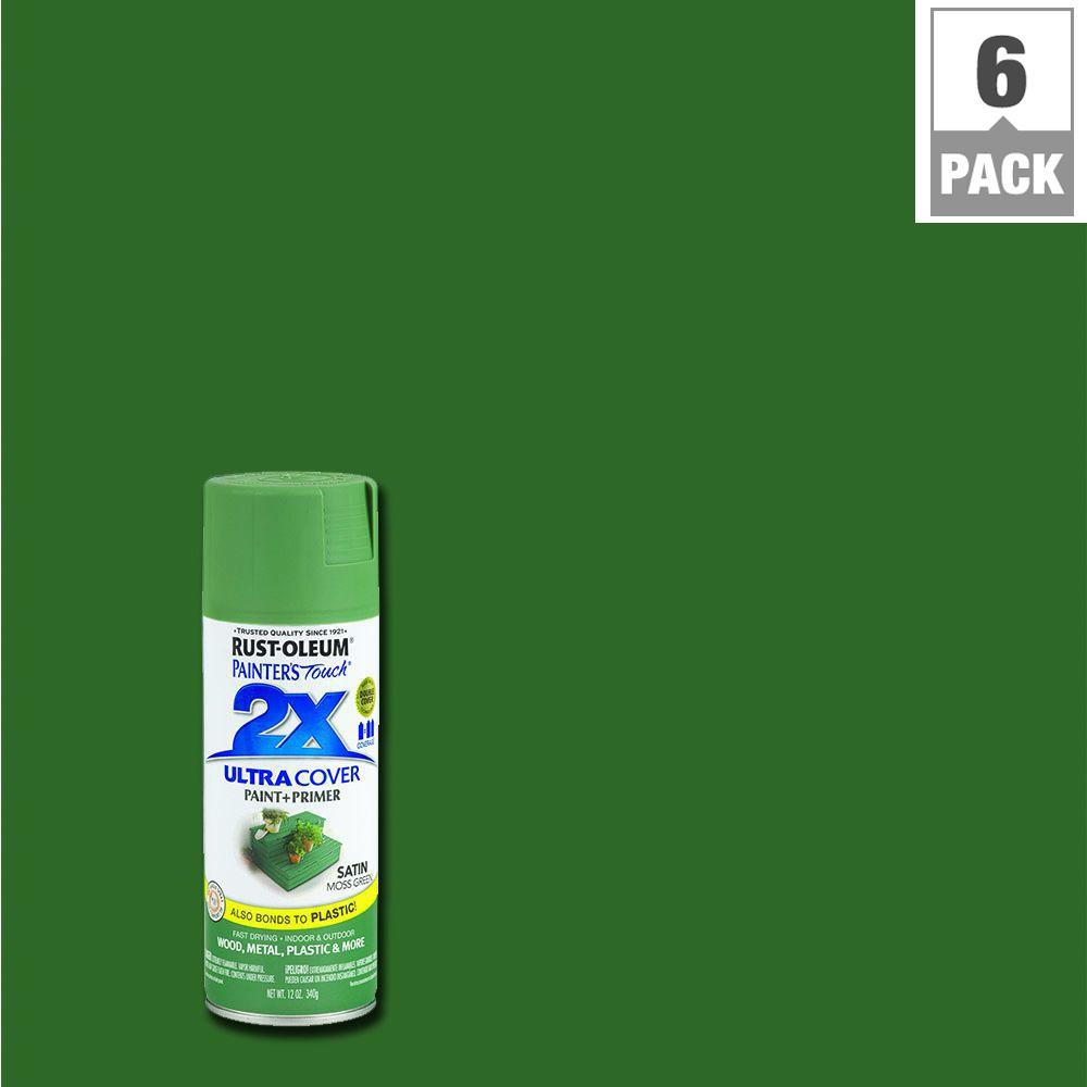 Best ideas about Rustoleum 2X Spray Paint Colors . Save or Pin Rust Oleum Painter s Touch 2X 12 oz Satin Moss Green Now.