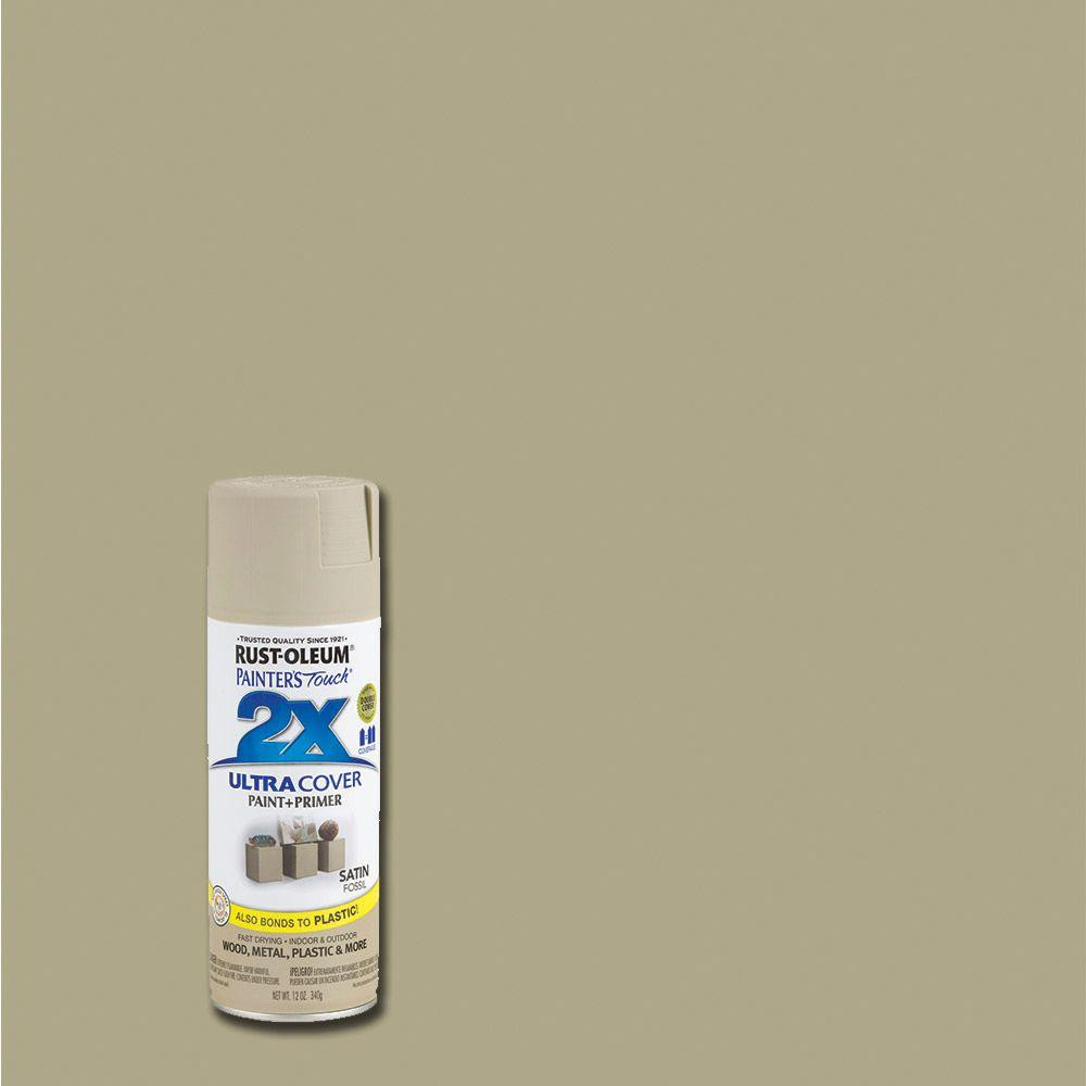 Best ideas about Rustoleum 2X Spray Paint Colors . Save or Pin Rust Oleum Painter s Touch 2X 12 oz Satin Fossil General Now.