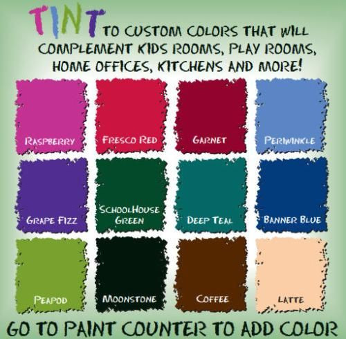 Best ideas about Rustoleum Chalk Paint Colors . Save or Pin Rust Oleum 29 oz Tintable Chalkboard Paint in Brown for Now.