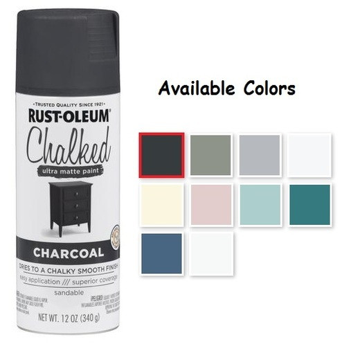 Best ideas about Rustoleum Chalk Paint Colors . Save or Pin Rust Oleum Chalked Spray Paint Decorative Paints And Now.