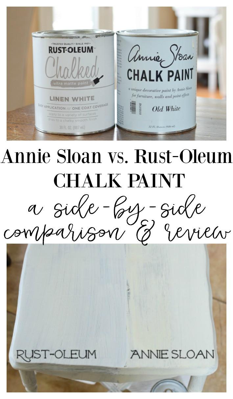Best ideas about Rustoleum Chalked Paint Colors . Save or Pin Annie Sloan Chalk Paint vs Rust Oleum Chalked Paint Now.