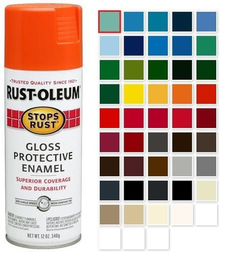 Best ideas about Rustoleum Spray Paint Colors . Save or Pin Rust Oleum Stops Rust Multi Purpose Gloss Enamel Spray Now.