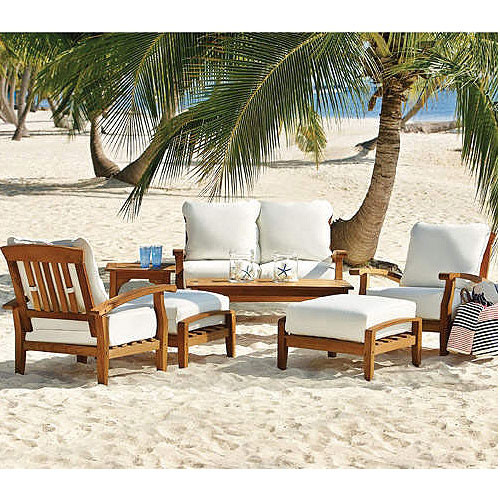Best ideas about Sams Patio Furniture . Save or Pin Sam s Club Teak Seating Replacement Cushions Set Garden Winds Now.