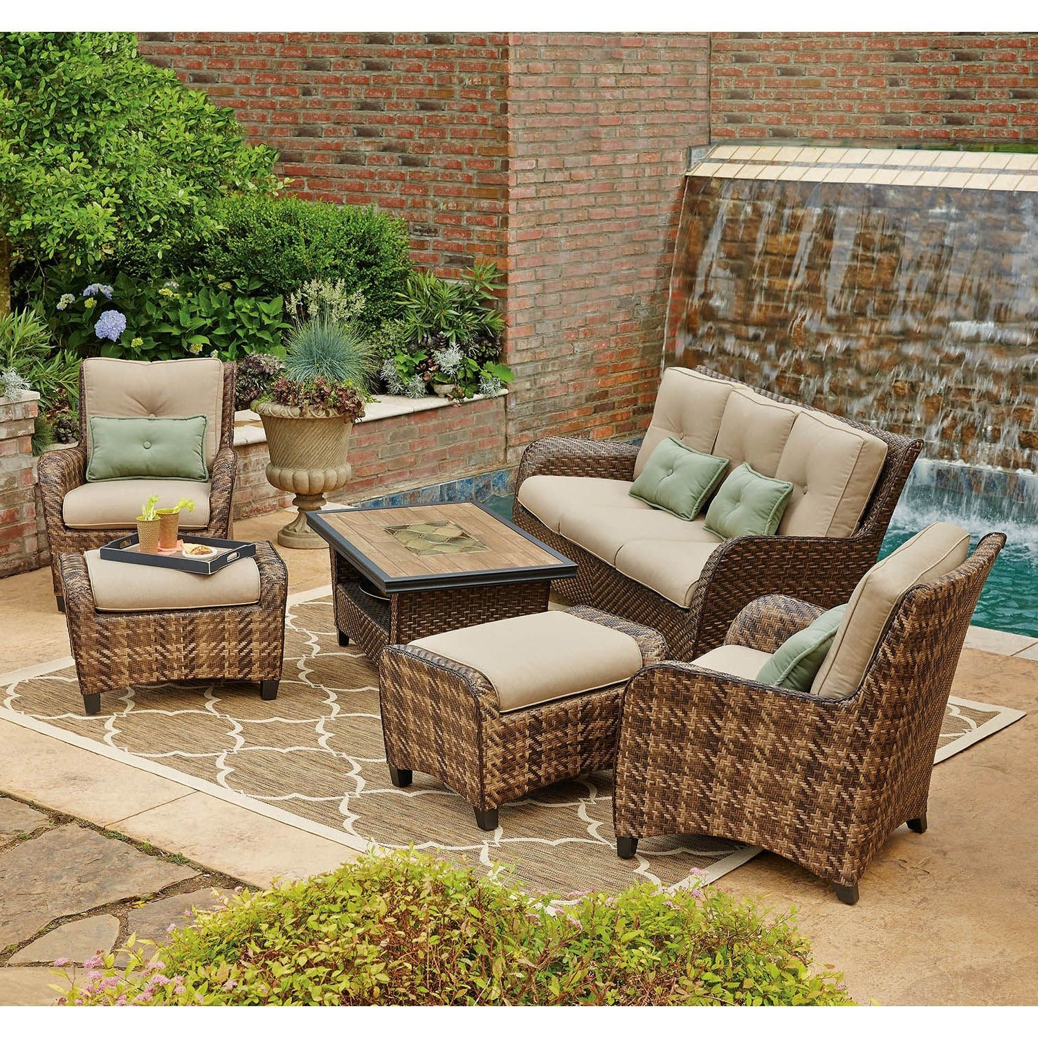Best ideas about Sams Patio Furniture . Save or Pin Tips Eye Catching Outdoor Furniture With Sams Club Patio Now.