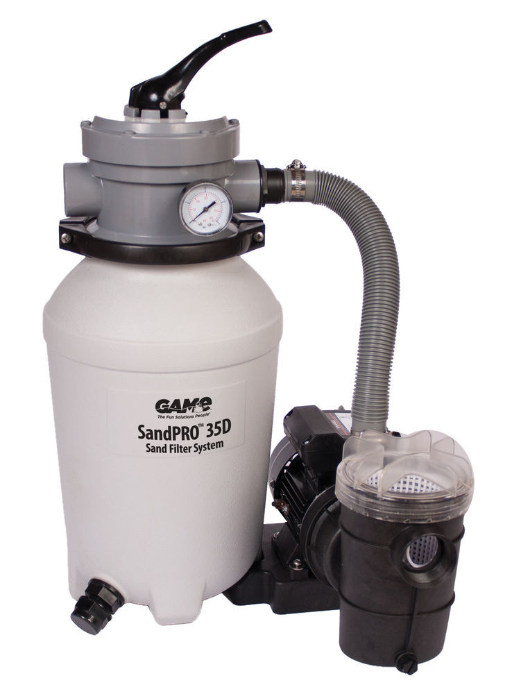 Best ideas about Sand Filter For Above Ground Pool . Save or Pin GAME SandPRO 35D Series 4706 Ground Swimming Pool Now.