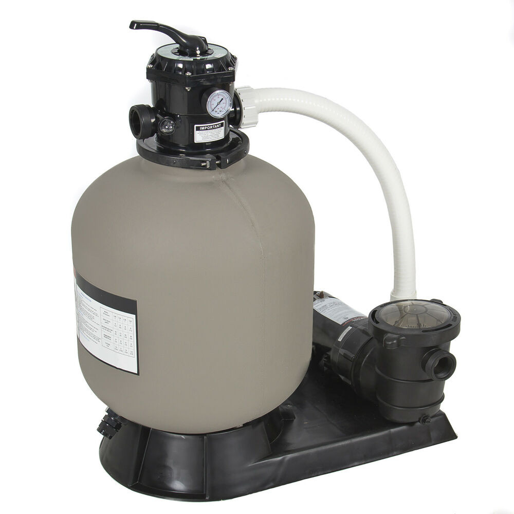 Best ideas about Sand Filter For Above Ground Pool . Save or Pin Pro Ground Swimming Pool Pump System 4500GPH 19 Now.