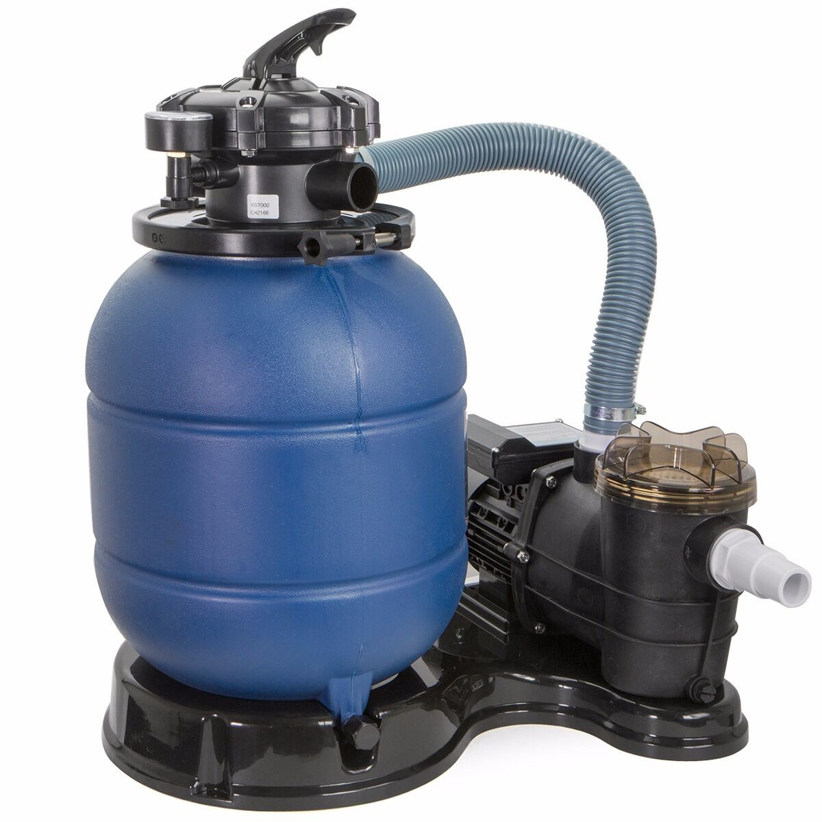 """Best ideas about Sand Filter For Above Ground Pool . Save or Pin 2400GPH 13"""" Sand Filter 3 4 HP Ground Swimming Pool Now."""