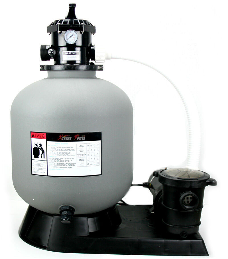 """Best ideas about Sand Filter For Above Ground Pool . Save or Pin Pro 4500GPH 19"""" Sand Filter w 1 5HP Ground Swimming Now."""