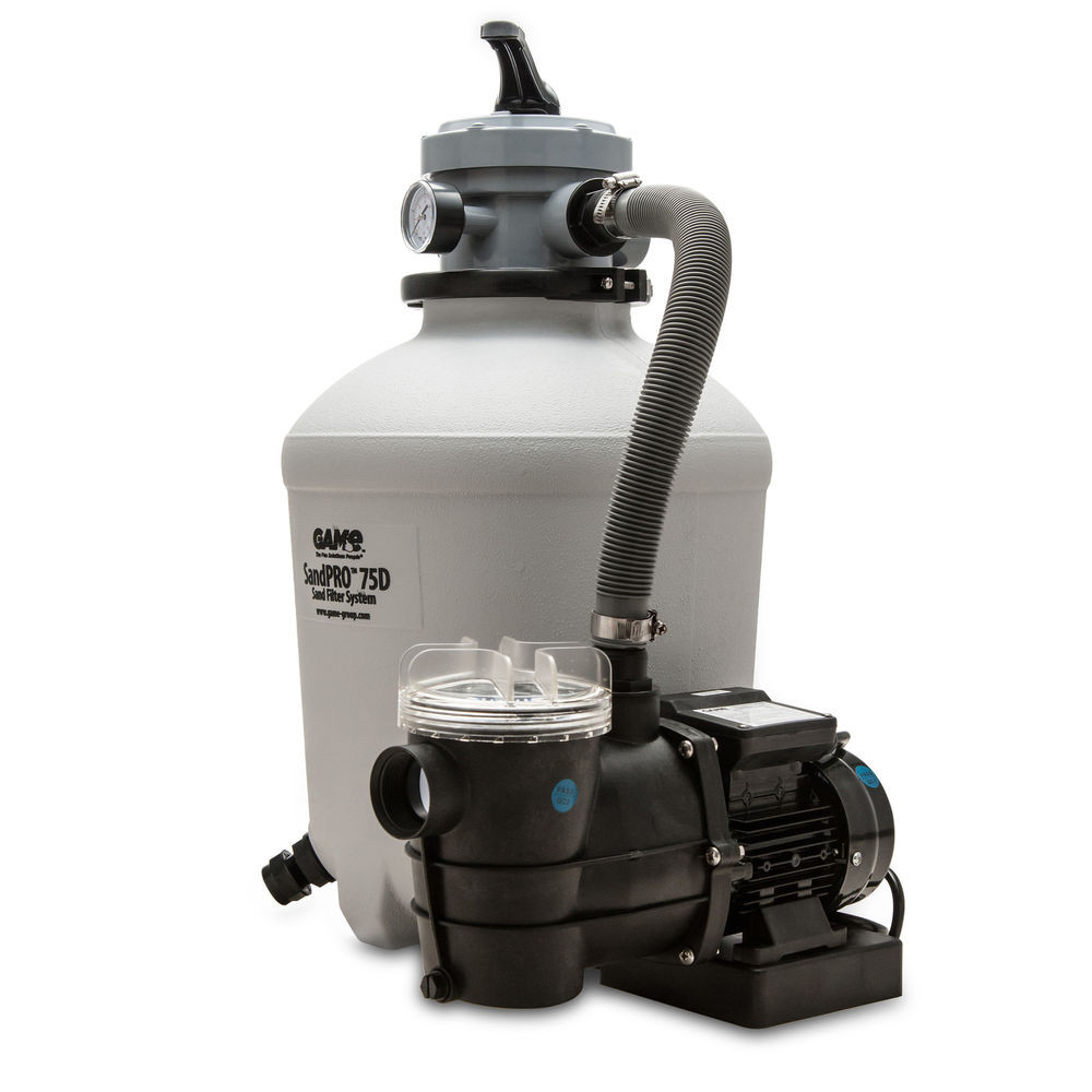 Best ideas about Sand Filter For Above Ground Pool . Save or Pin Game 75D SandPro Ground Pool Pump and Sand Filter Now.