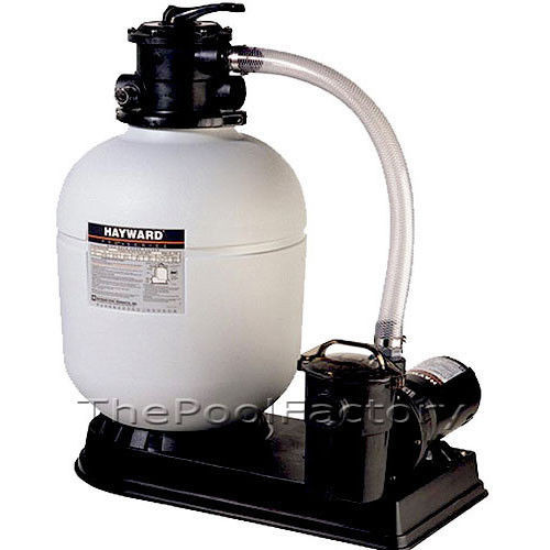 Best ideas about Sand Filter For Above Ground Pool . Save or Pin 1 5HP HAYWARD S166T Ground Swimming Pool SAND FILTER Now.