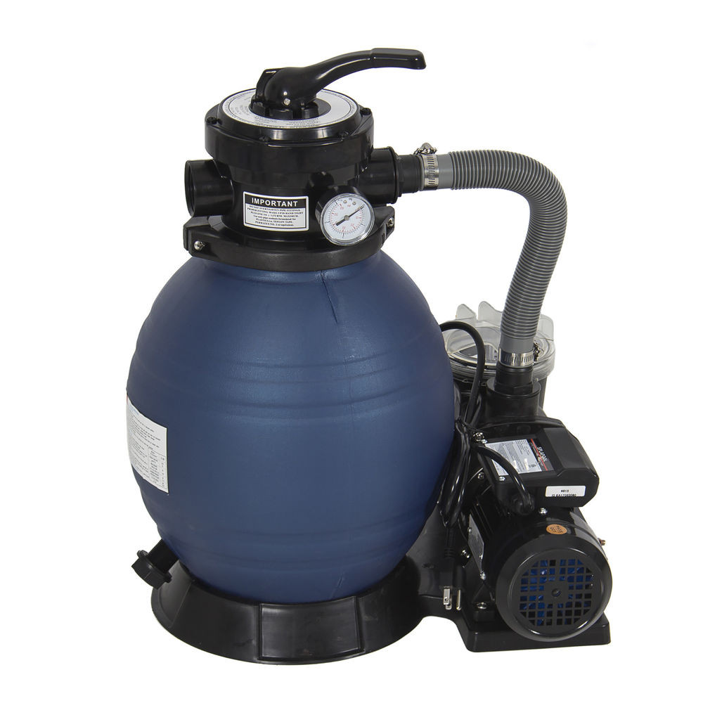 """Best ideas about Sand Filter For Above Ground Pool . Save or Pin Pro 2400GPH 13"""" Sand Filter Ground Swimming Pool Now."""