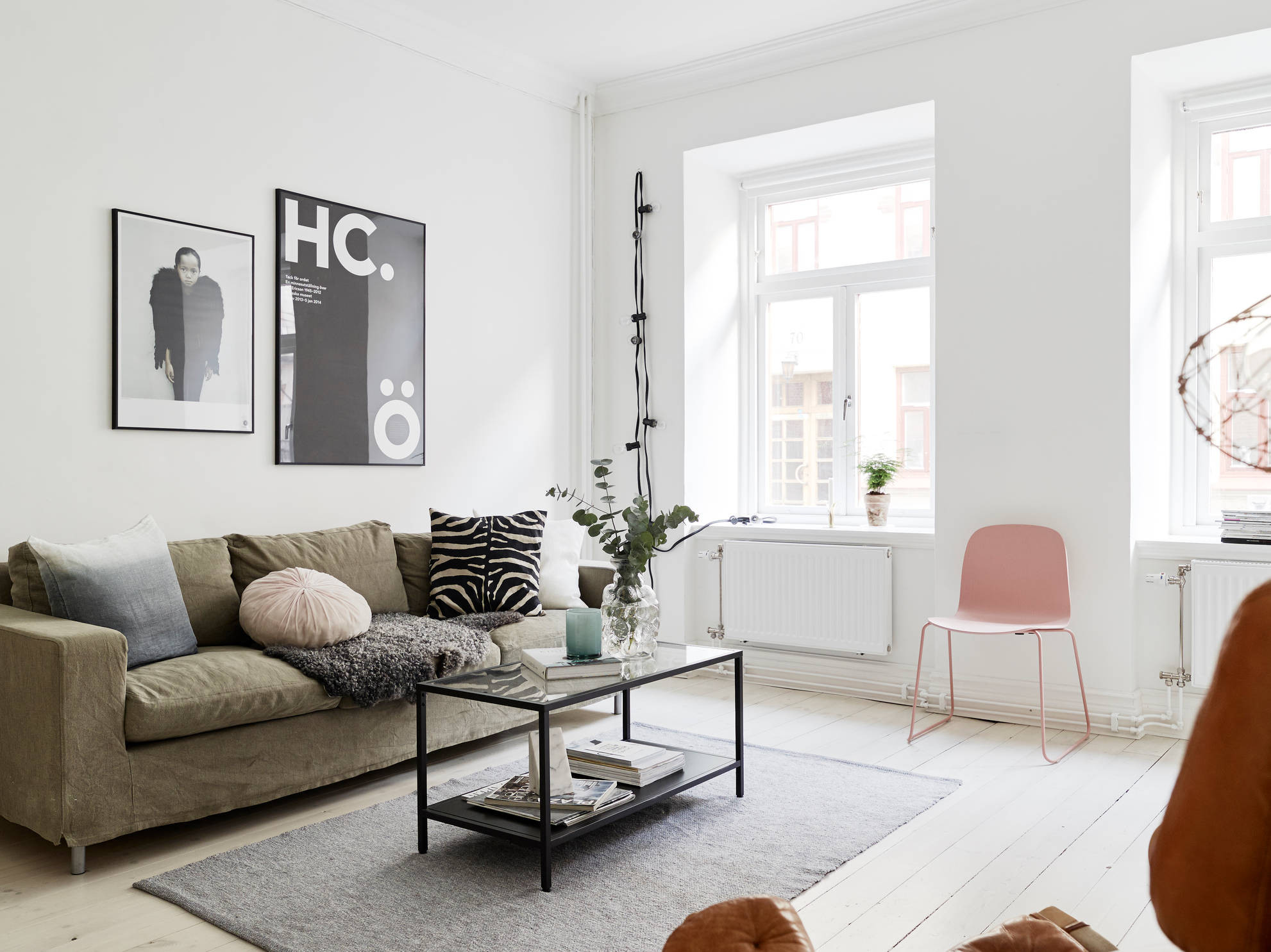 Best ideas about Scandinavian Living Room . Save or Pin decordots Happy new year some inspo Now.
