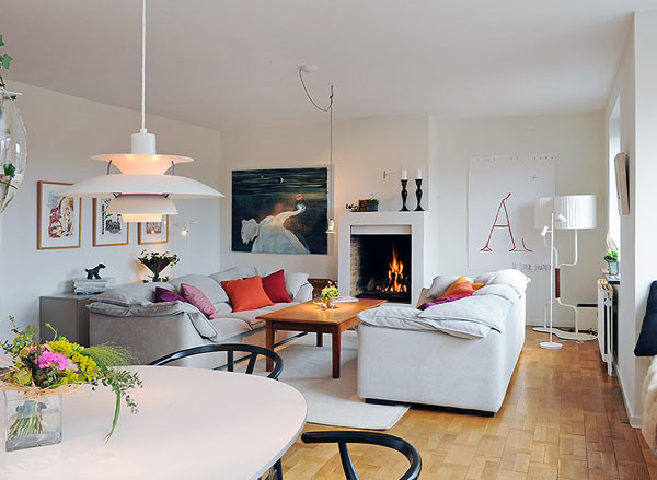 Best ideas about Scandinavian Living Room . Save or Pin 35 Light And Stylish Scandinavian Living Room Designs Now.