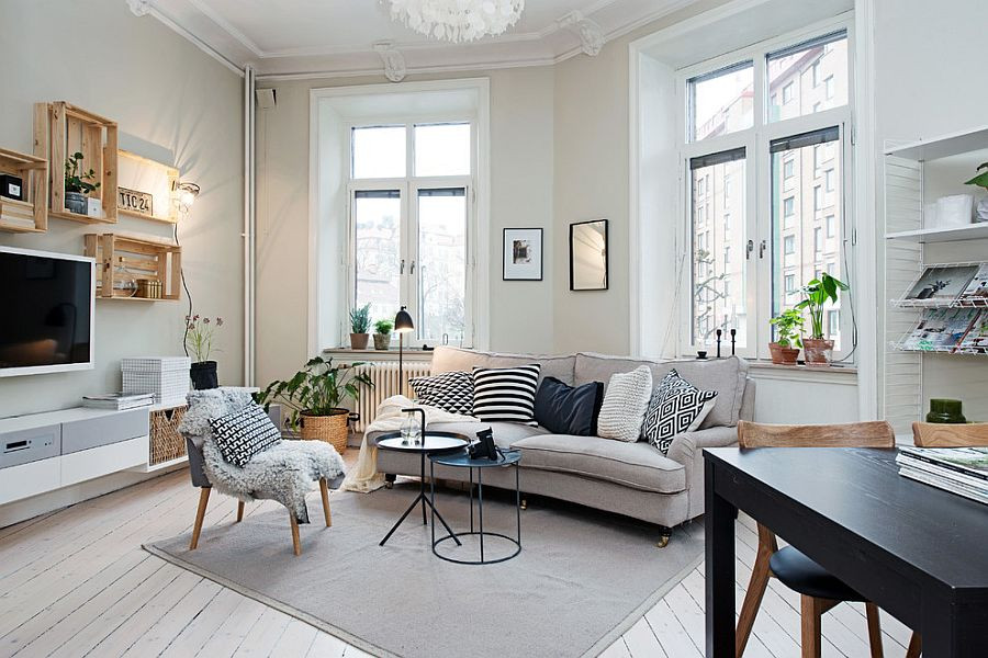 Best ideas about Scandinavian Living Room . Save or Pin 50 Chic Scandinavian Living Rooms Ideas Inspirations Now.
