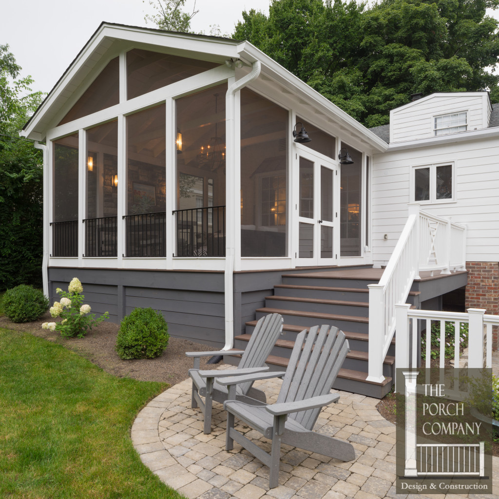 Best ideas about Screen In Patio . Save or Pin Screened Porch and Garage Oasis The Porch panyThe Now.