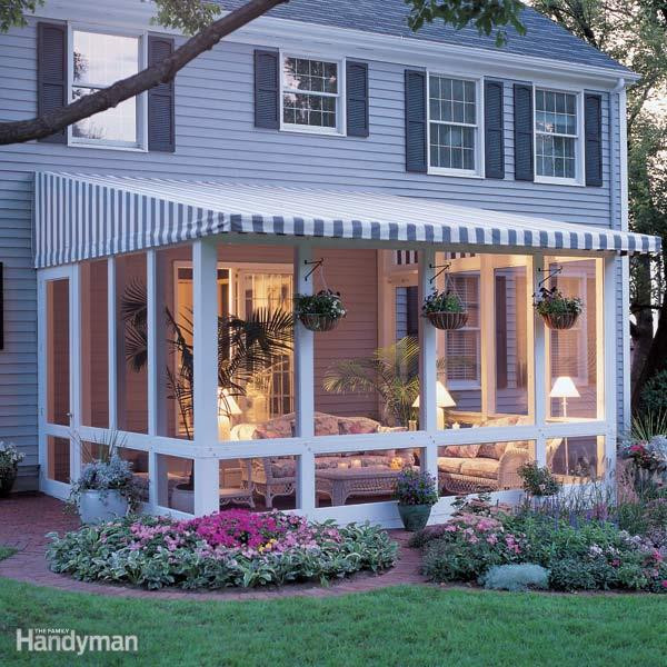 Best ideas about Screen In Patio . Save or Pin How to Build a Screened In Patio Now.
