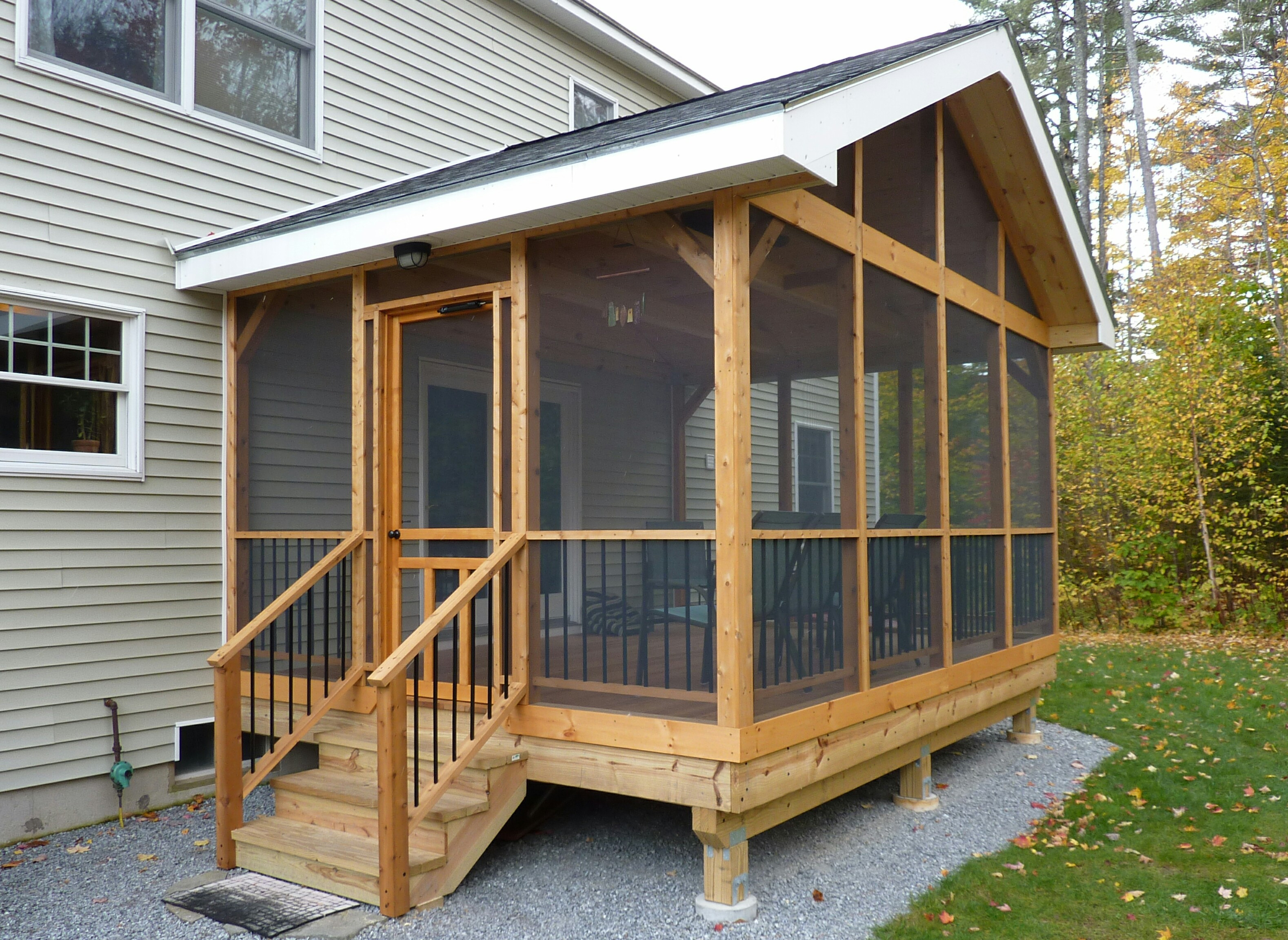 Best ideas about Screen In Patio . Save or Pin 15 DIY Screened In Porch Learn how to screen in a porch Now.