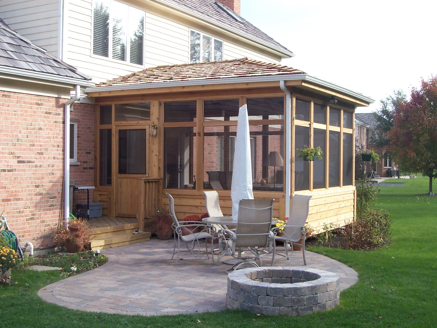 Best ideas about Screen In Patio . Save or Pin Screen Porches – Outdoor Living with Archadeck of Chicagoland Now.