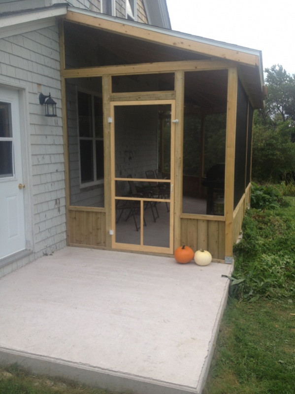 Best ideas about Screen In Patio . Save or Pin Need Ideas For Making Removable Screen Inserts For Now.