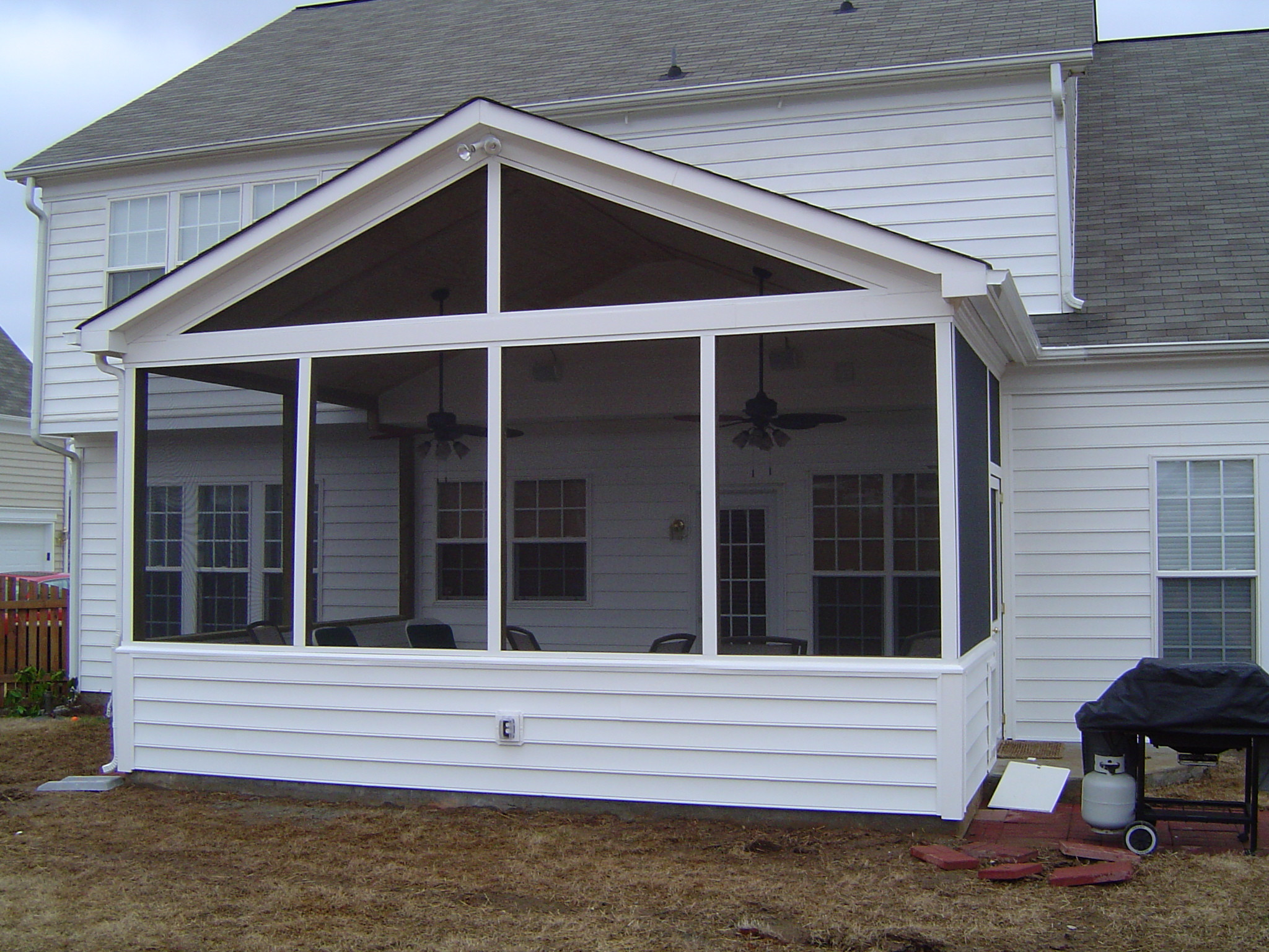 Best ideas about Screen In Patio . Save or Pin Screened In Porch Now.