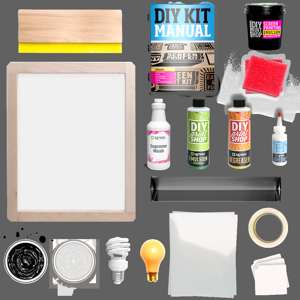 Best ideas about Screen Printing Kit DIY . Save or Pin T Shirt Shop DIY Screen Printing Kit by DIY Print Shop Now.