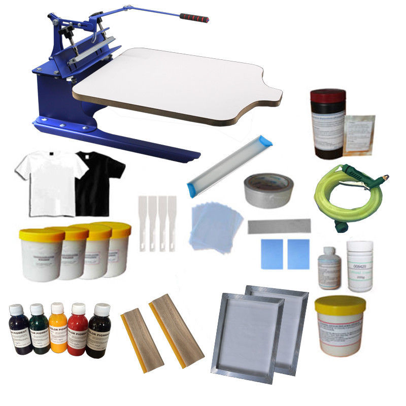 Best ideas about Screen Printing Kit DIY . Save or Pin 1 Color 1 station Screen Printing Kit DIY Full Supplies Now.