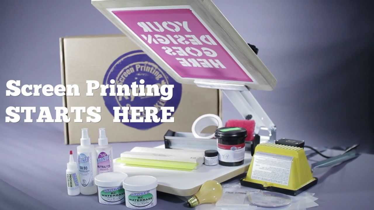 Best ideas about Screen Printing Kit DIY . Save or Pin Ryonet Screen Printing Starter Kit DIY T Shirt Printing Now.