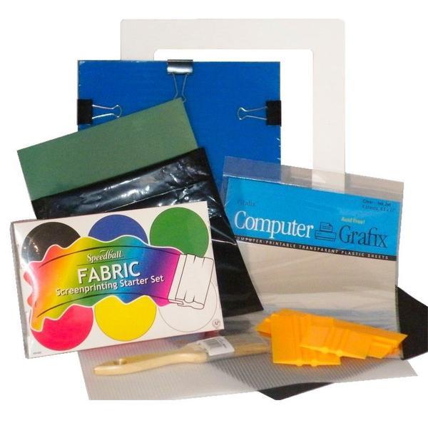 Best ideas about Screen Printing Kit DIY . Save or Pin DIY plete Custom T Shirt Silk Screen Printing Kit Home Now.