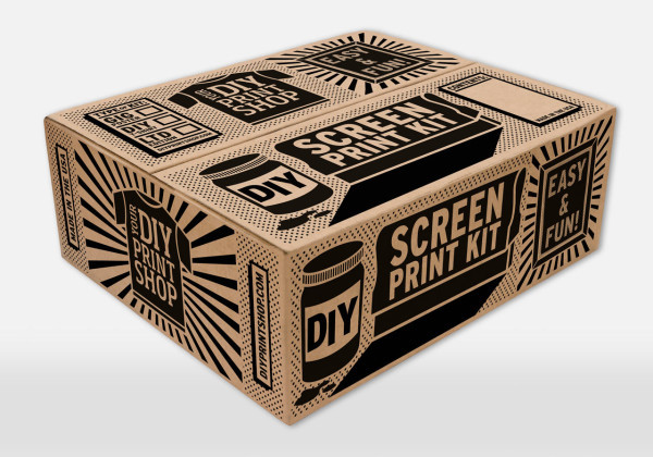 Best ideas about Screen Printing Kit DIY . Save or Pin DIY Screen Printing Kits From DIY Print Shop Design Milk Now.