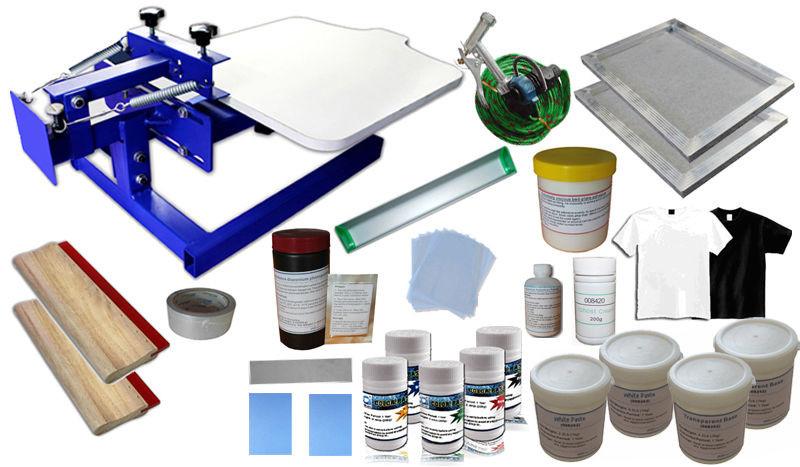 Best ideas about Screen Printing Kit DIY . Save or Pin Single Color Screen Printing Kit 1 Color DIY Silkscreen Now.