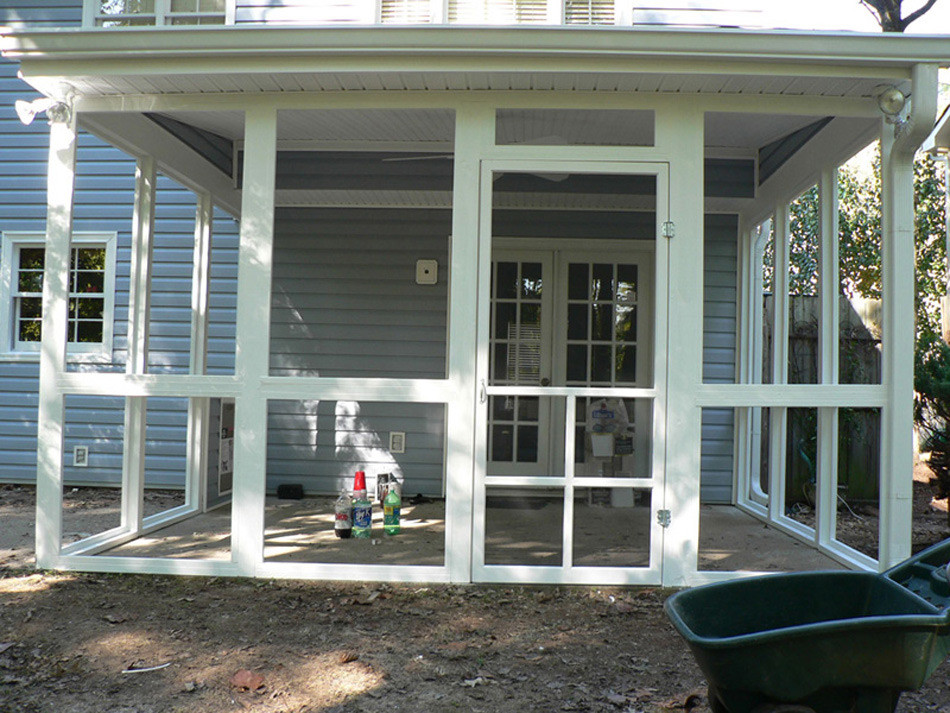 Best ideas about Screened In Patio . Save or Pin Before & After Screen Porch s Now.