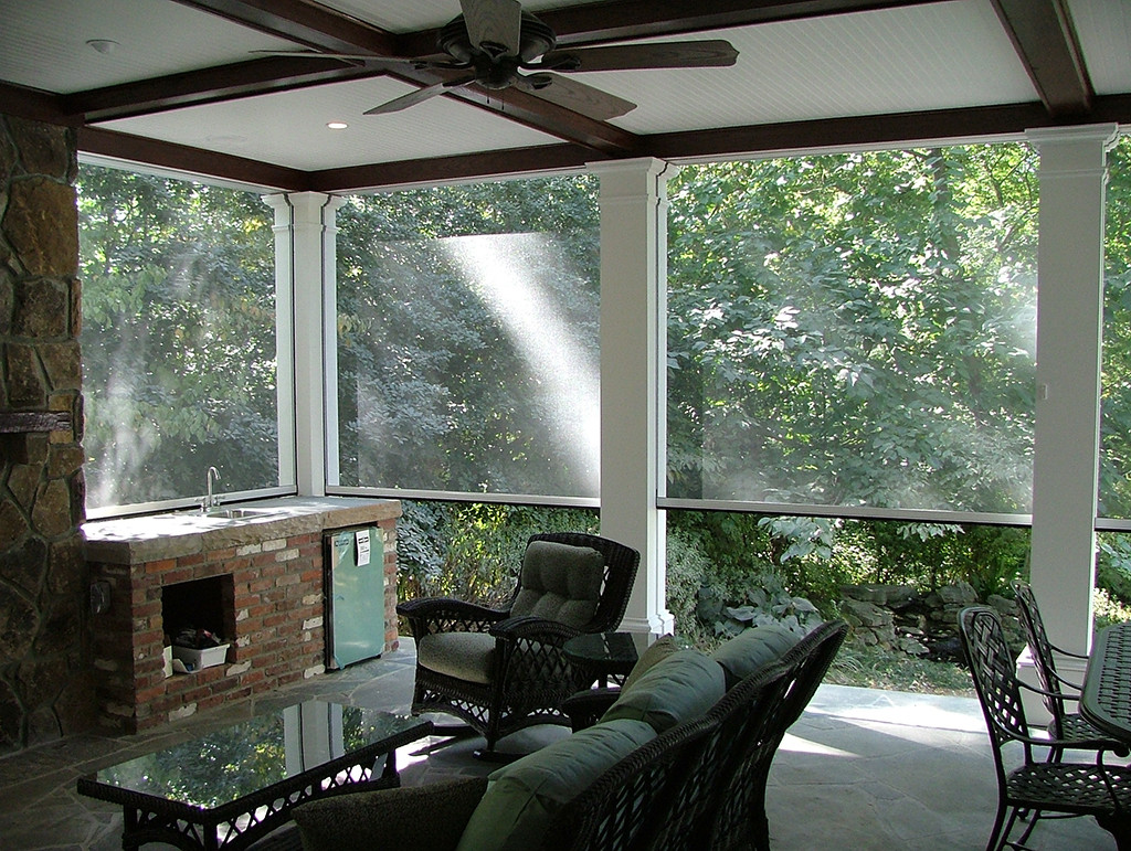 Best ideas about Screened In Patio . Save or Pin Screened In Porch Rainier Shade Now.