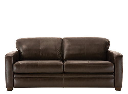 Best ideas about Sectional Sleeper Sofa Queen . Save or Pin Trent Leather Queen Sleeper Sofa Dark Chocolate Now.