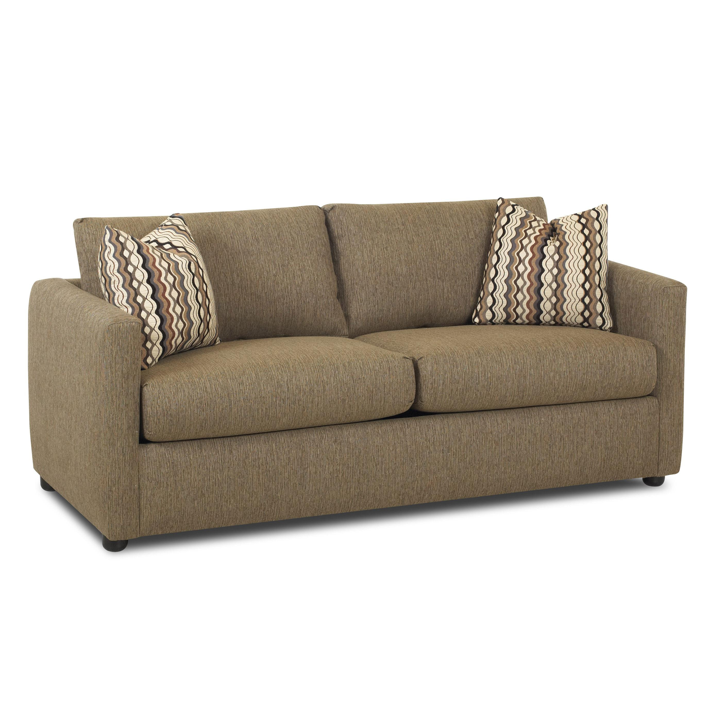 Best ideas about Sectional Sleeper Sofa Queen . Save or Pin Jacobs Casual Queen Sleeper Sofa by Klaussner Now.