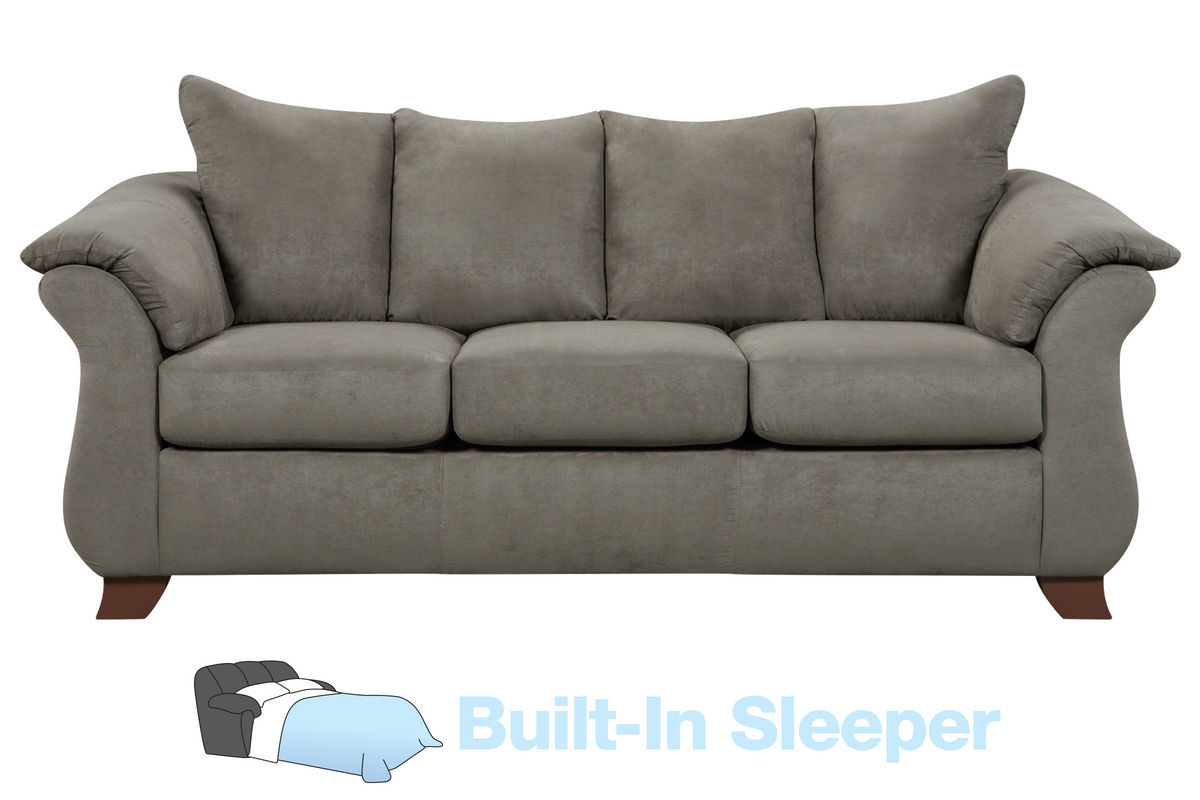 Best ideas about Sectional Sleeper Sofa Queen . Save or Pin Upton Microfiber Queen Sleeper Sofa at Gardner White Now.