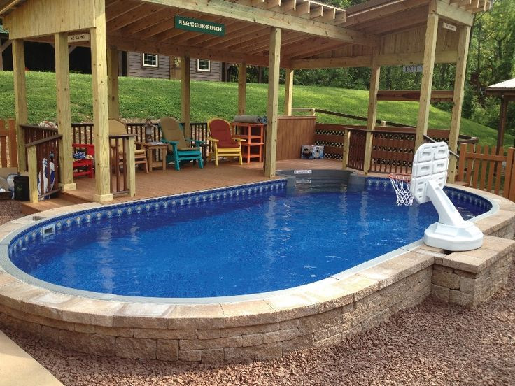 20 Of The Best Ideas For Semi Inground Pool Cost