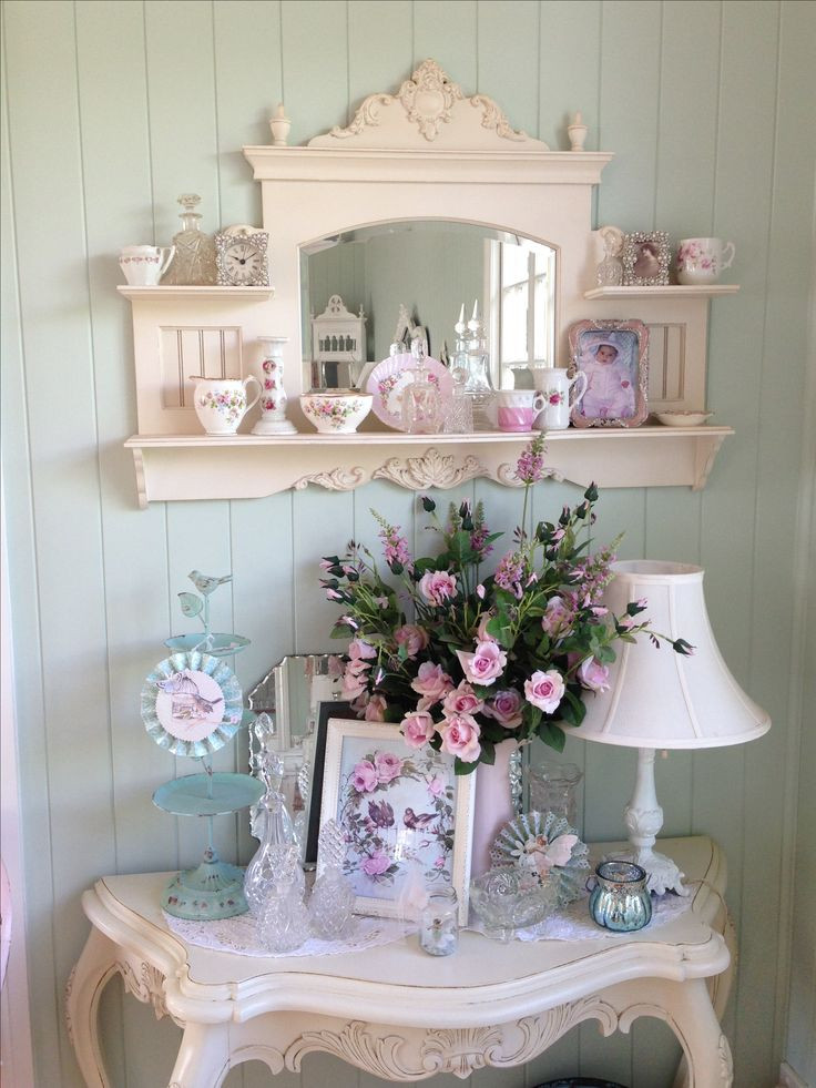 Best ideas about Shabby Chic Art . Save or Pin 25 best ideas about Shabby chic shelves on Pinterest Now.