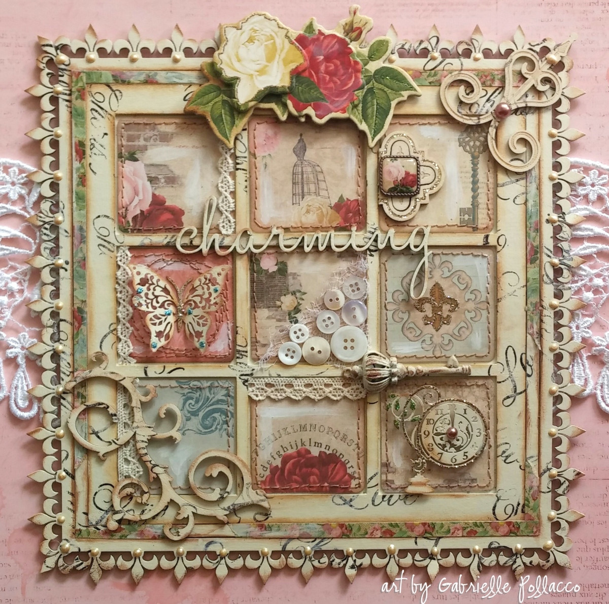 Best ideas about Shabby Chic Art . Save or Pin Such a Pretty Mess Shabby Chic Wall Art Bo Bunny & Dusty Now.